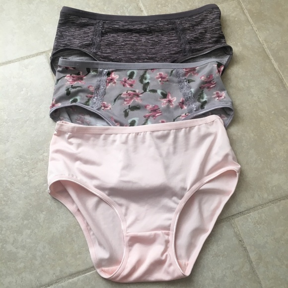 e27e2b9949fc kathy ireland Intimates & Sleepwear | 3 Nwot Large Nylon Brief ...